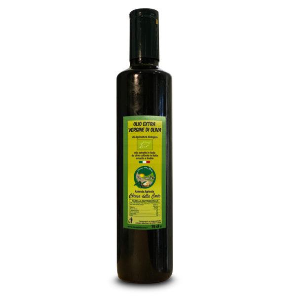 Olio Extra Vergine di Oliva Biologico 75 cl